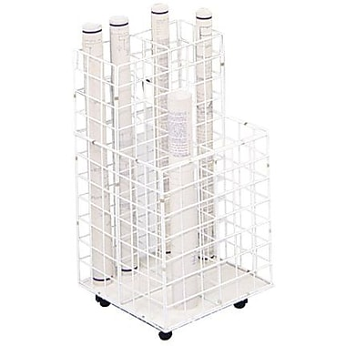 Safco® 4-Compartments Wire Storage File
