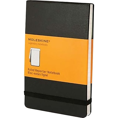 MoleskineMD – Cahier de notes de poche ligné style journaliste, 3 1/2 x 5 1/2 po