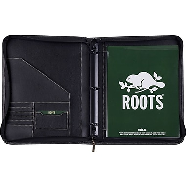 Roots® Duo Zip Padfolio and Tablet Holder