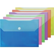 Winnable® Velcro Poly Two File Pocket Envelope