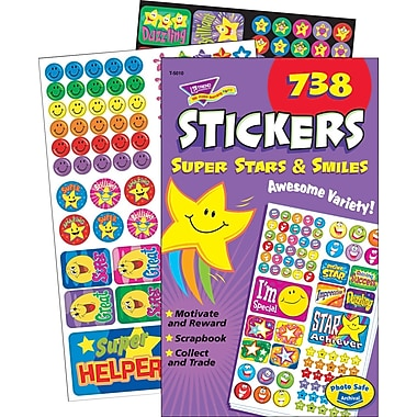 TREND Super Stars & Smiles Sticker Pad