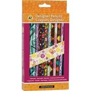 MerangueMD – Crayons designer assortis, 42/paquet