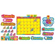 TREND Wipe - Off® Stars 'n Swirls Calendar (Cling) Bulletin Board Set