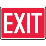 "Accuform Signs® 7"" x 10"" Plastic Safety Signs ""EXIT"""