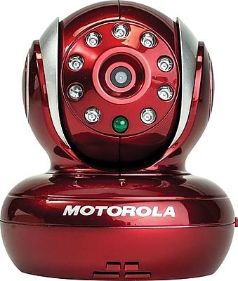 Motorola Blink 1 Wi-Fi Baby Video Monitor, Red