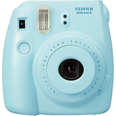 FUJIFILM Insta Mini 8 Camera, Blue (MINI8BLU)