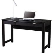 Techni Mobili Modern Writing Desk with Storage, Espresso
