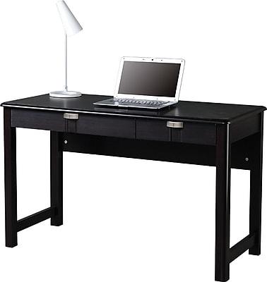 Techni Mobili Modern Writing Desk with Storage, Espresso