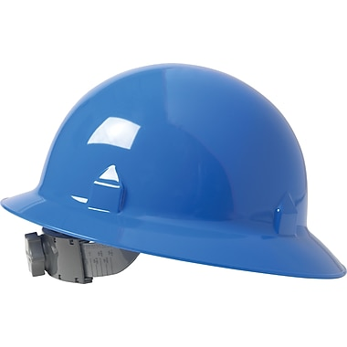 Jackson Safety® Blockhead™ Safety Hard Hat, 8 Point Ratchet, Blue