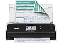Brother ADS-1500W Compact Color Wireless Desktop Scanner