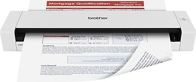 Duplex scanners usa for Brother ds 920dw wireless duplex mobile color page scanner white
