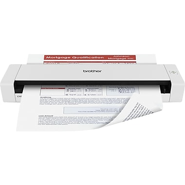 Scanners staples brother ds 720d mobile duplex color page scanner reheart Images