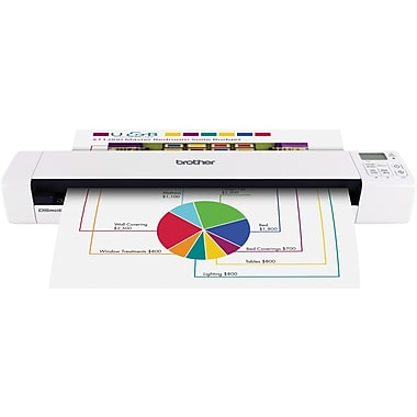Brother DS-820W Wireless Mobile Color Page Scanner