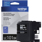Brother LC101 Black Ink Cartridge  (LC101BKS)