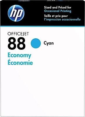 HP 88 Cyan Economy Ink Cartridges (D8J37AN)