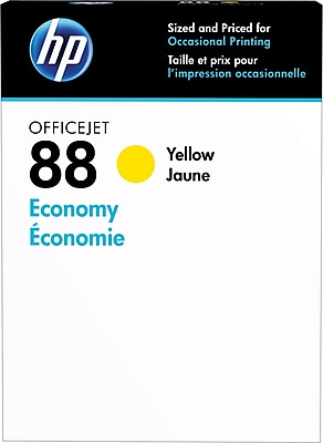 HP 88 Yellow Economy Ink Cartridge (D8J39AN)