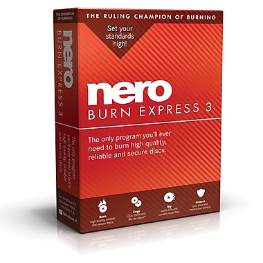 Nero – Logiciel Burn Express 3, bilingue