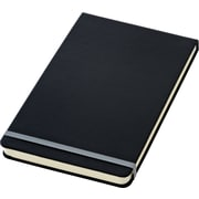 "TOPS® Idea Collective® Hardbound Journal, Top Bound, 5-1/4"" x 8-1/4"", Wide Rule, Cream, 120 Sheets (56886)"