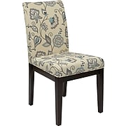 Office Star DAK-A19 Fabric/Wood Desk Chair, Beige