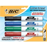 BIC® Great Erase® Dry-Erase Markers with Grip