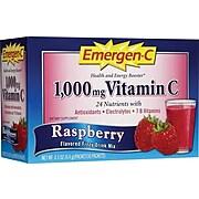 Emergen-C Drink Mix, Raspberry, 0.3 oz. Packet, 30/Box (130201)
