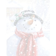 Great Papers® Holiday Stationery Snowman Face, 80/Count (2013248)
