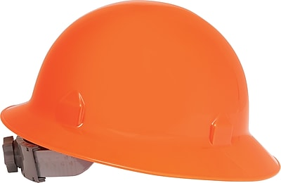 Jackson Safety® Blockhead™ Safety Hard Hat, 8 Point Ratchet, Orange