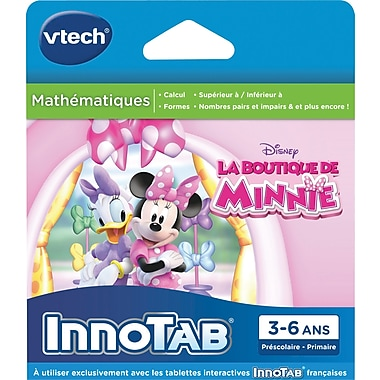 Vtech Innotab Software: Minnie Mouse, French
