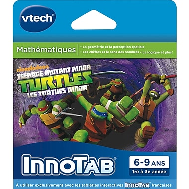 Vtech Innotab Software: Teenage Mutant Ninja Turtles, French