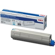 OKI C831 Cyan Toner Cartridge (44844511)