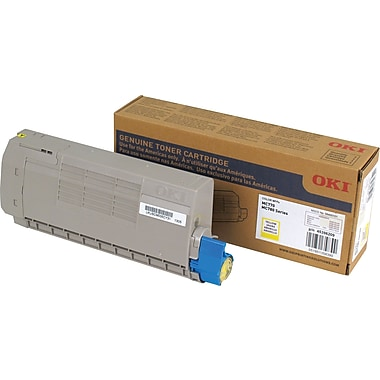 OKI MC770 / MC780 Yellow Toner Cartridge (45396209)
