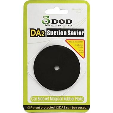 DOD Tech Suction Savior Rubber Pad, (DA2), Black