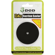 DOD Tech Suction Savior Rubber Pad, (DA2), Black