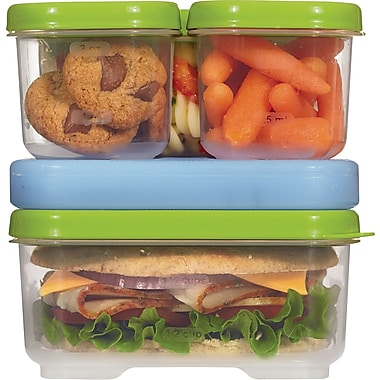 RubbermaidMD – Ensemble pour sandwich LunchBloxMC
