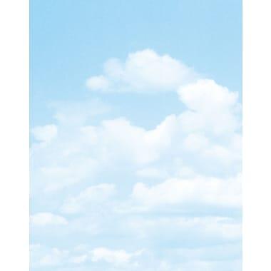 GeographicsMD – Carton pour affiche avec motif de nuages, 22 x 28 po