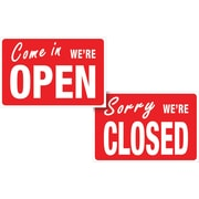 "HeadLine® 8""x12"" ""OPEN/CLOSED"" Sign"