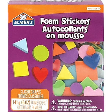Elmer's® Classic Shapes Foam Sticker Bucket