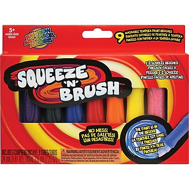 Elmer's - Pinceau Squeeze'n Brush, 9/paquet