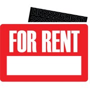 HeadLine - Affiche FOR RENT, 8 x 12 po