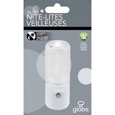 Globe® LED Cylindrical Automatic Nightlight