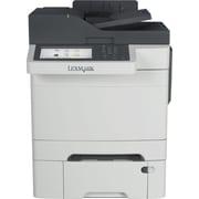 Lexmark™ - Imprimante laser couleur tout-en-un CX510dthe, avec AirPrint et Duplex