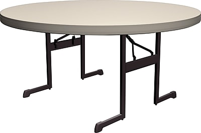 Lifetime 60Inch Round Professional Folding Table 4pk Staples