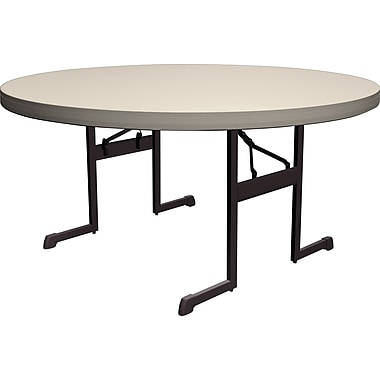 Lifetime 60 Inch Round Professional Folding Table   4pk