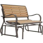 Lifetime Wood Alternative Glider Bench