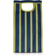 Blue Avocado Tower Bag, Green Stripe