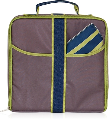 Blue Avocado Lunch Attache, Stone