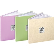 "Generations® 12"" x 12"" Fabric Album with Window, Assorted"