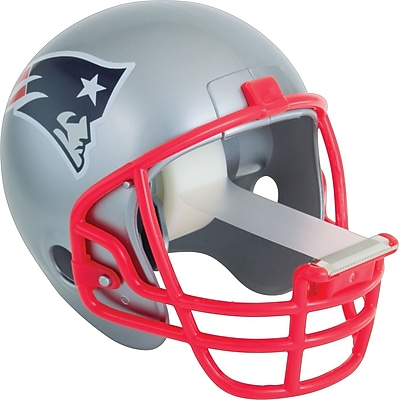 Scotch® Magic™ Tape Dispenser, New England Patriots Football Helmet with 1 Roll of 3/4