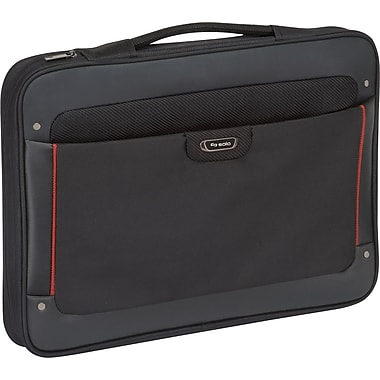 Solo Executive Laptop Slim Brief, Black (STL140-4)