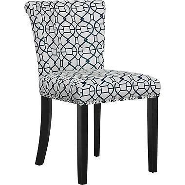 Office Star Avenue Six® Kendal Fabric Desk Chair, Noah Moonlight